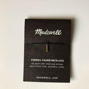 Madewell Vermeil Charm Necklace